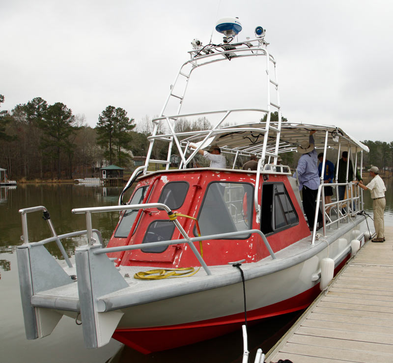 We're nearing completion of the renovations to our repurposed transport boat.