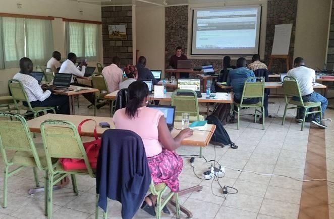 Website Workshop in Kenya